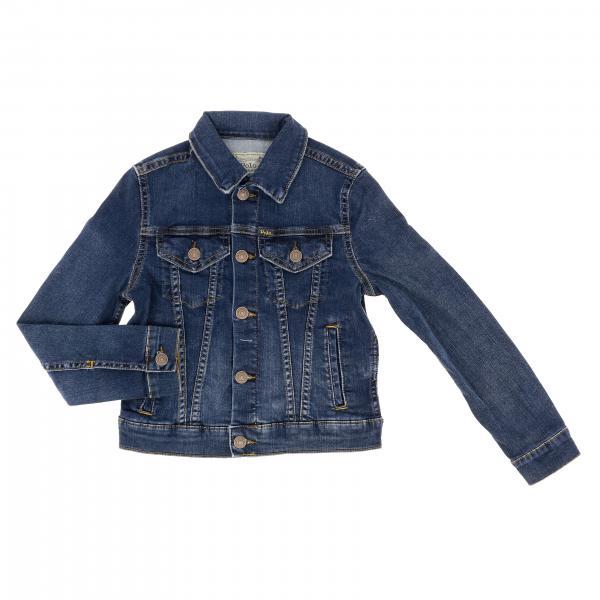 Giacca di jeans Polo Ralph Lauren Boy in denim