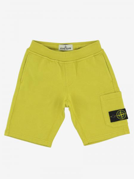 Stone Island Junior Shorts mit Logo