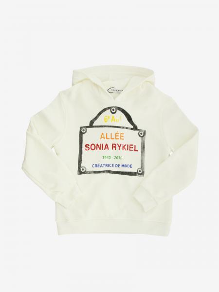 Felpa Sonia Rykiel con cappuccio e logo