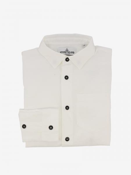Stone Island Junior shirt with patch pocket