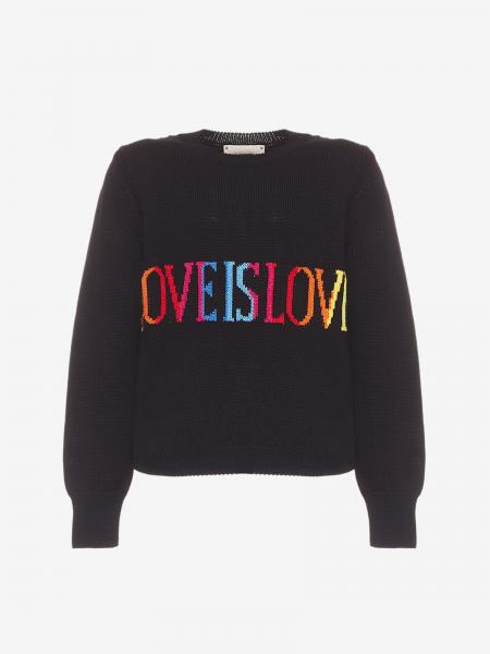 Alberta Ferretti Junior sweater with writing