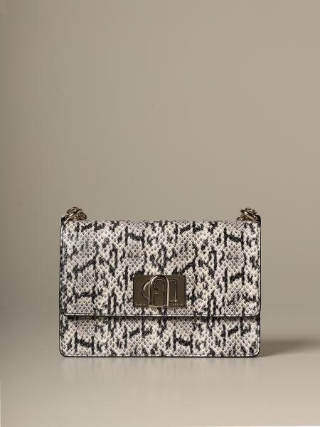 Furla shoulder bag in leopard leather