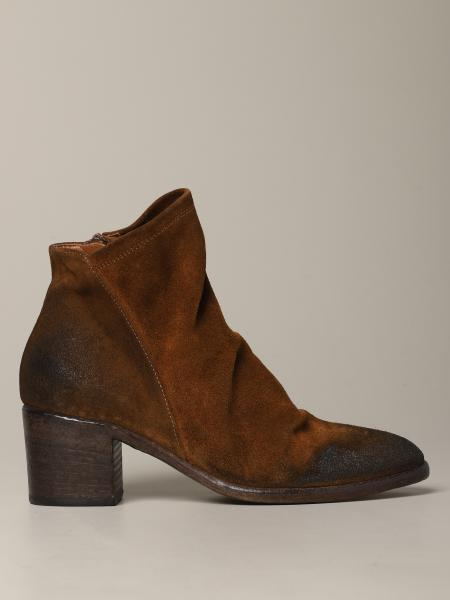 Strategia suede ankle boot with zip