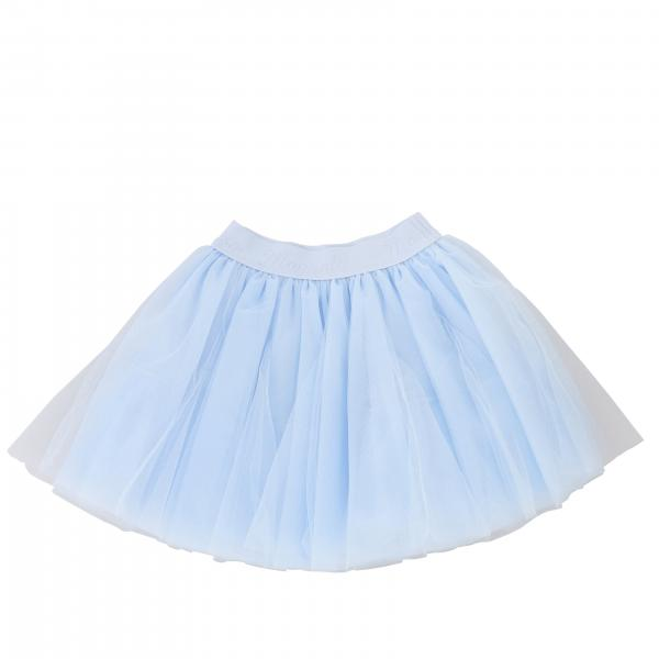 Monnalisa wide skirt in tulle