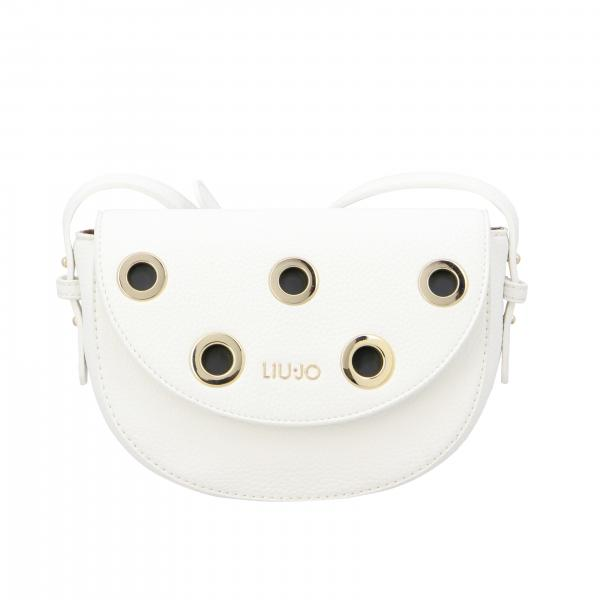 Liu Jo shoulder bag with metal eyelets and logo