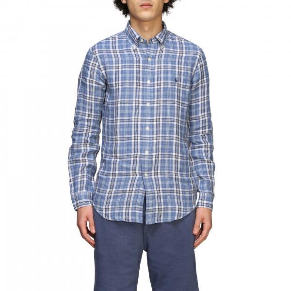 Camicia Polo Ralph Lauren a quadri con logo