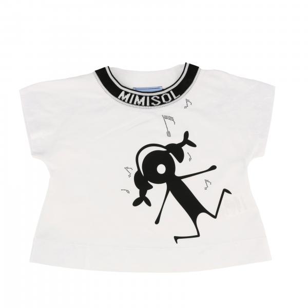 T-shirt à manches courtes Mi Mi Sol avec imprimé