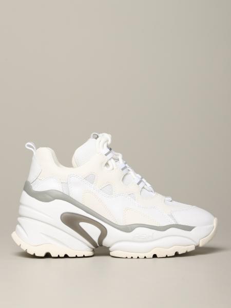 Sneakers Bango 04 Ash in pelle e rete