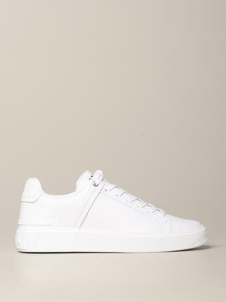Balmain sneakers in smooth leather
