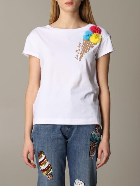Love Moschino short-sleeved T-shirt with ice cream