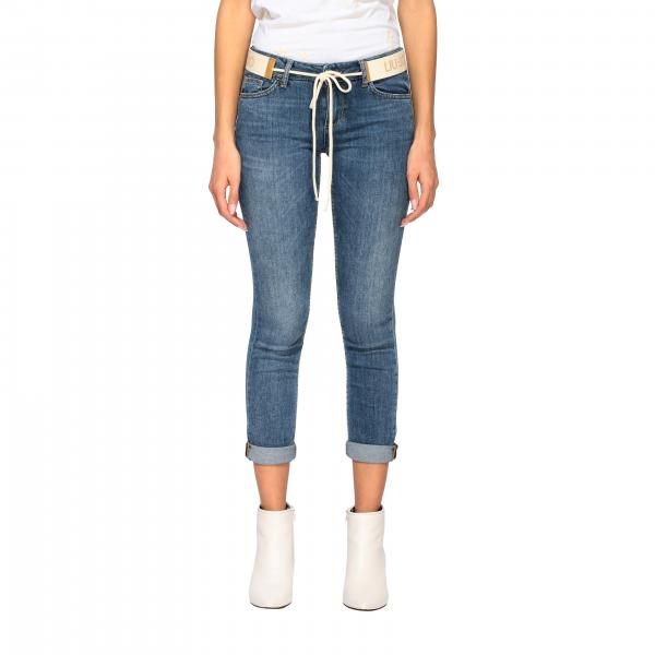 Liu Jo slim fit jeans with logoed belt
