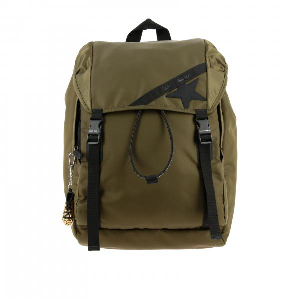 Golden Goose nylon backpack with double buckles