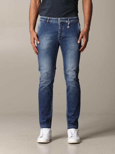 Jeans Manuel Ritz in denim used