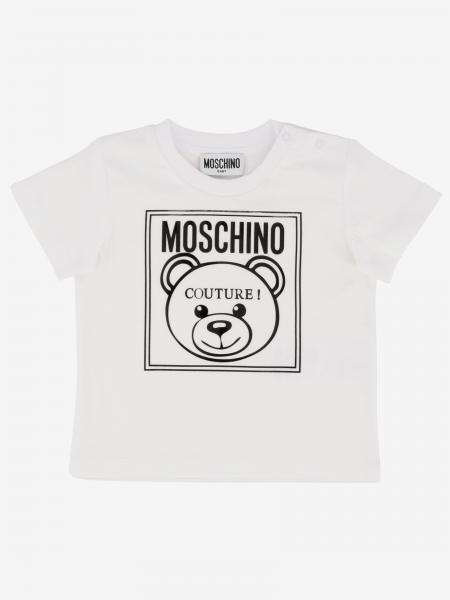 T-shirt Moschino Baby con stampa teddy