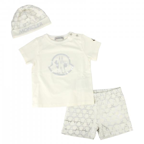 T-shirt set + shorts + Moncler cap