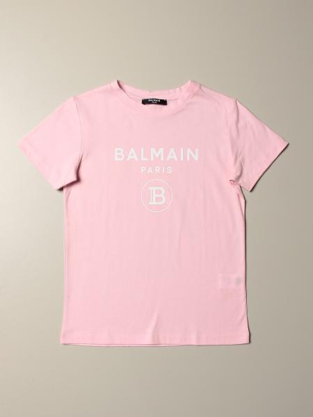 Balmain T-Shirt mit Logo