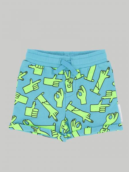 Stella McCartney shorts with drawstring and all over prints