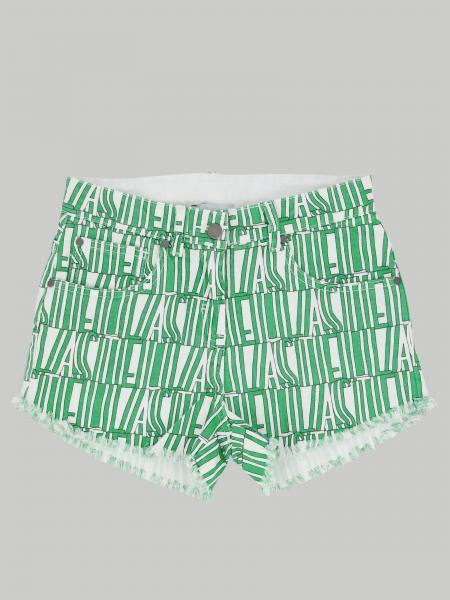 Stella Mccartney shorts with all over logo