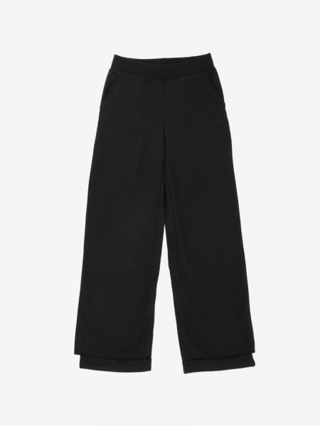 Monnalisa wide trousers with Minnie Mouse print