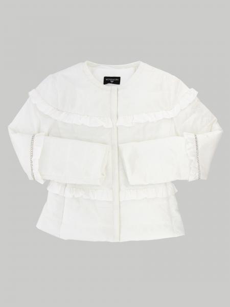 Monnalisa round neck jacket