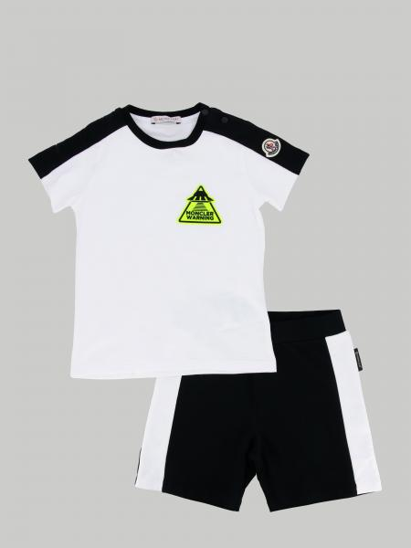 Moncler t-shirt + shorts set