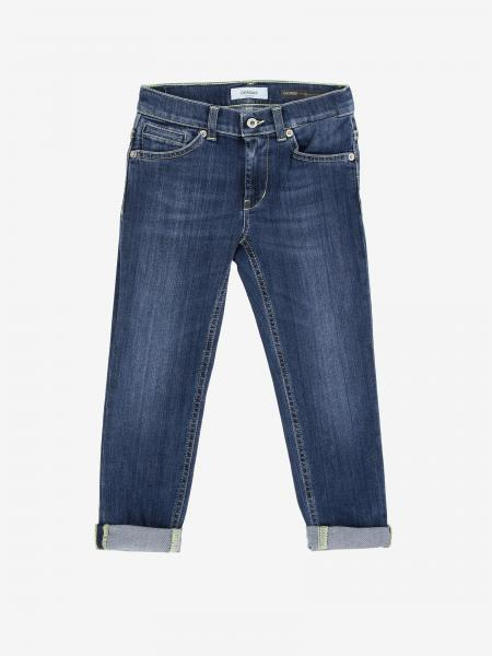 Jeans en denim Dondup avec logo
