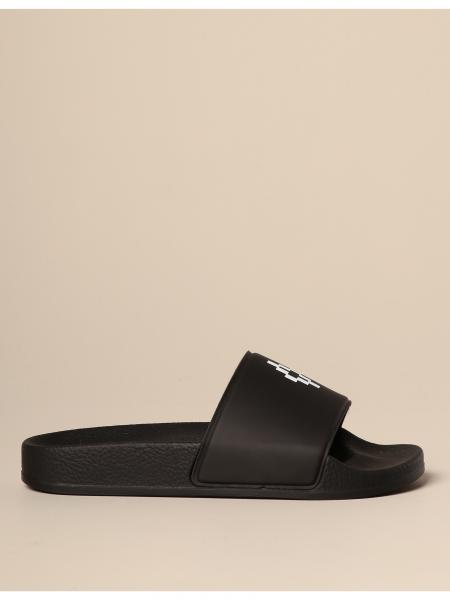 Marcelo Burlon rubber sandal with logo