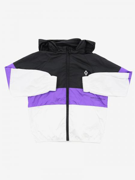 Marcelo Burlon nylon jacket with logo