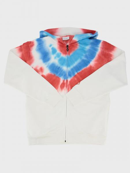 Marcelo Burlon sweatshirt with hood and zip