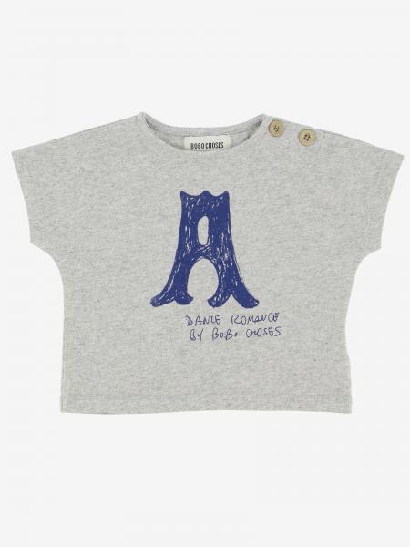 T-shirt Bobo Choses a maniche corte con stampa A