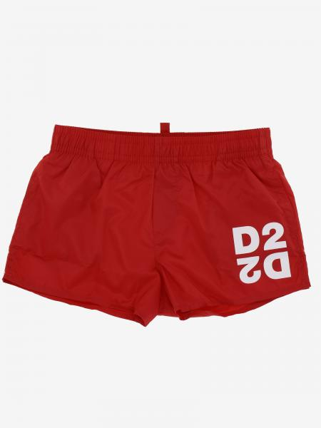 Dsquared2 Junior boxer swimsuit with logo