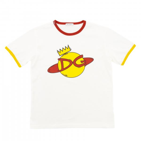 Dolce & Gabbana short-sleeved T-shirt with DG print