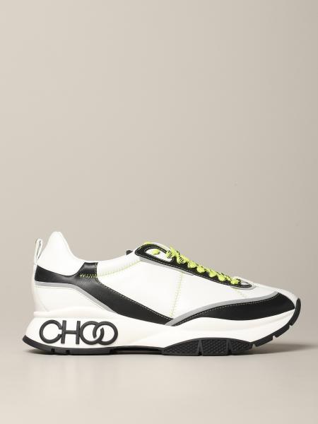 Sneakers Raine M Zag Jimmy Choo in pelle bicolor