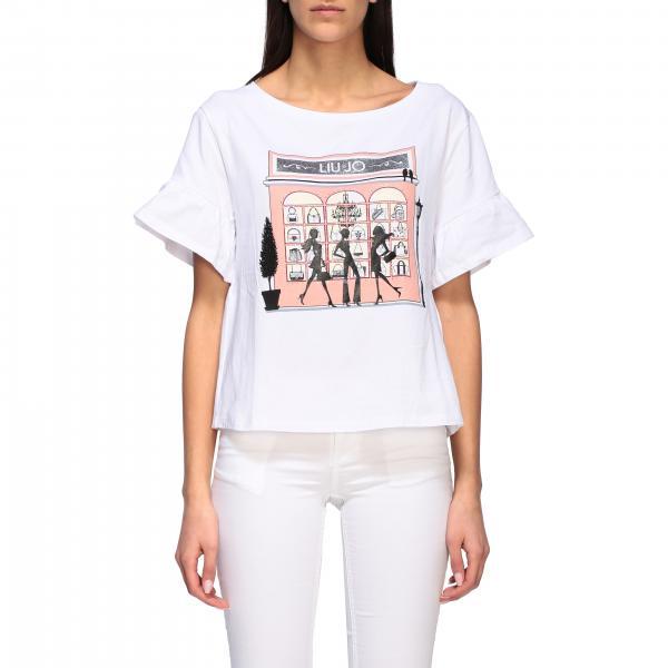 T-shirt Liu Jo a maniche corte con stampa frontale