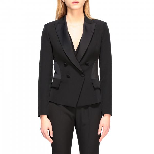 Liu Jo classic double-breasted jacket