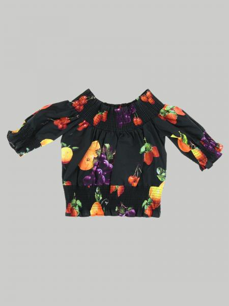 Msgm Kids top with fruit print