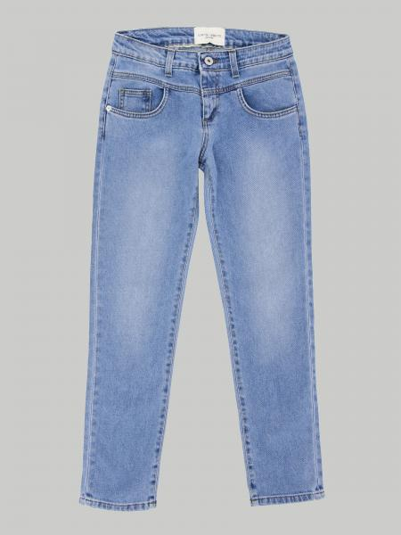 Alberta Ferretti Junior jeans with writing