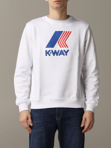 K-Way men: Sweatshirt men K-way