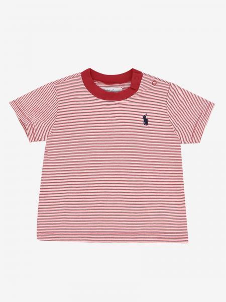 T-shirt Polo Ralph Lauren Infant rayé avec logo