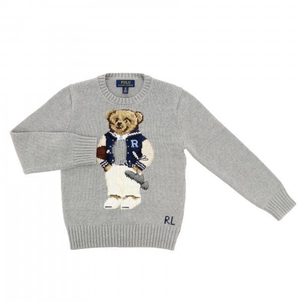 Maglia Polo Ralph Lauren Boy con orso