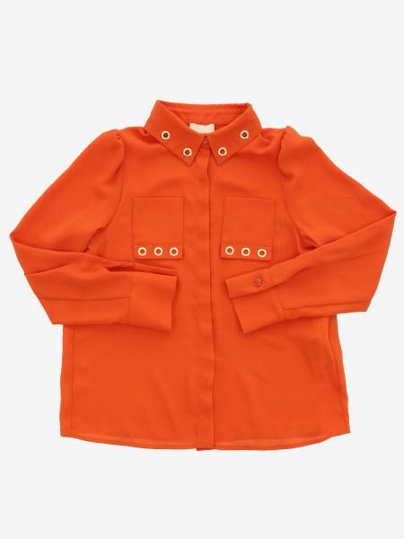 Chemise Elisabetta Franchi à voiles métalliques