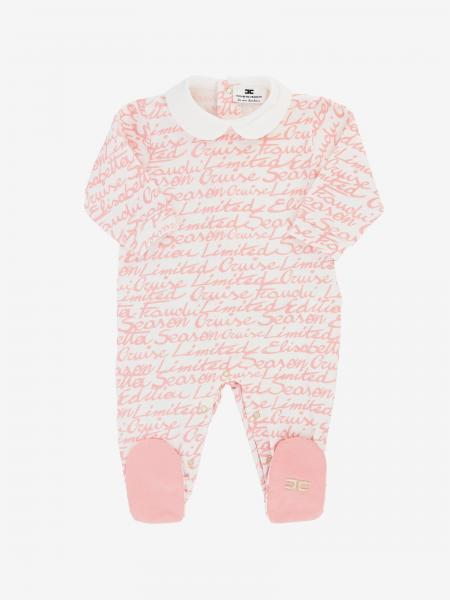 Elisabetta Franchi romper with foot with all over logo