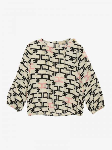 Elisabetta Franchi shirt with all over logo