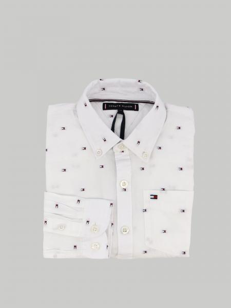 Tommy Hilfiger shirt with all over logo