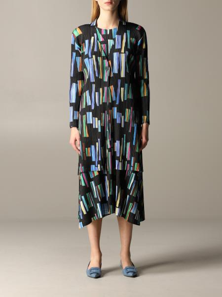 Issey Miyake patterned pleated cardigan