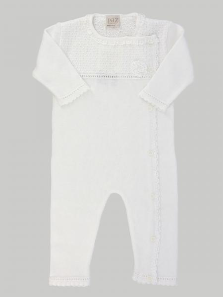 Paz Rodriguez onesie with embroidered edges