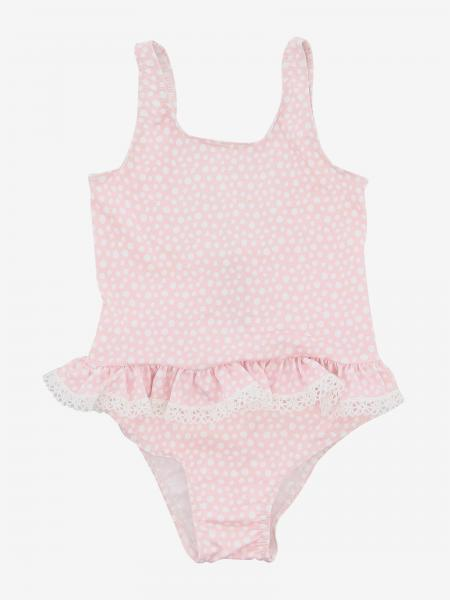 Paz Rodriguez swimsuit with ruffles and bows