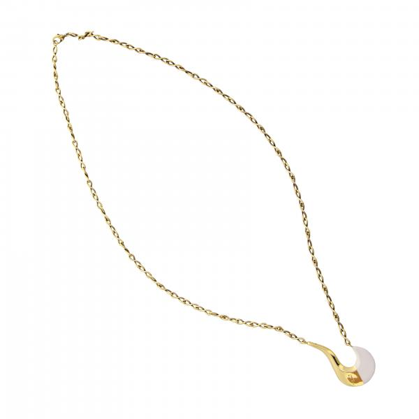 Marni necklace with brass pendant