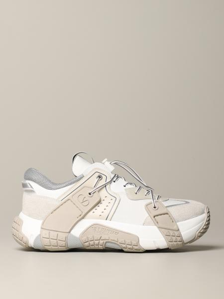 Valentino Garavani 真皮绒面革运动鞋