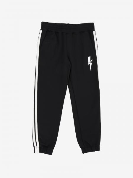 Pantalone jogging Neil Barrett con logo